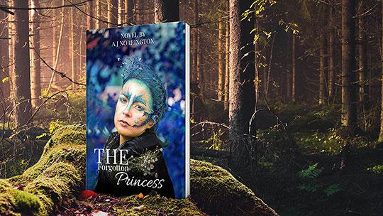 forest book mockup